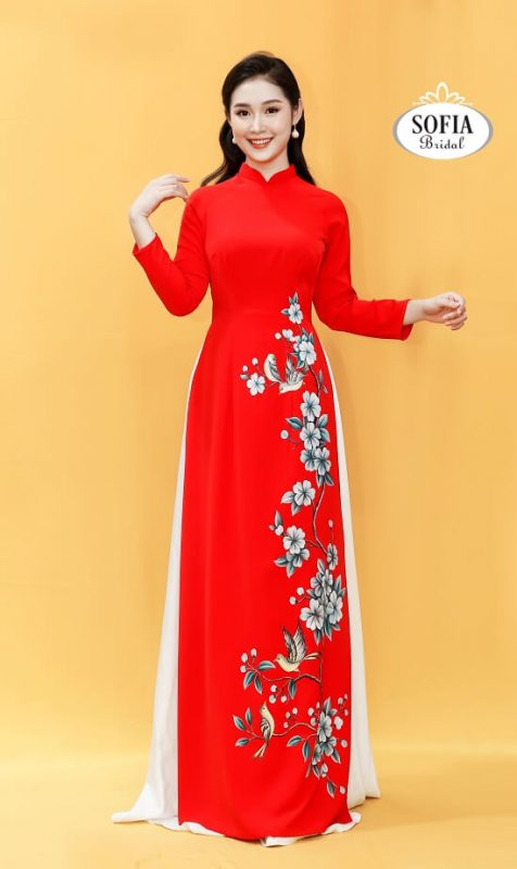 Áo dài bà sui, Áo dài quý bà, Áo dài tuổi trung niên - Thiết kế độc đáo - Phong Cách Hiện Đại, Dịch vụ chuyên nghiệp, Xu hướng mớí - Hotline 0936343596