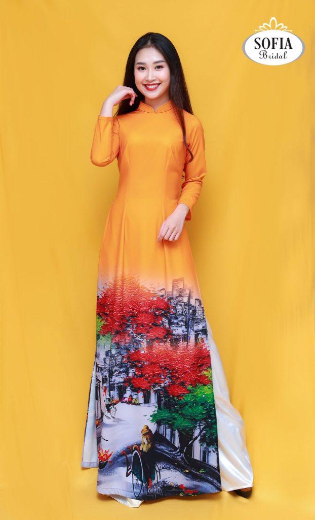 áo dài Hà Nội - Phong Cách Hiện Đại, Tinh tế