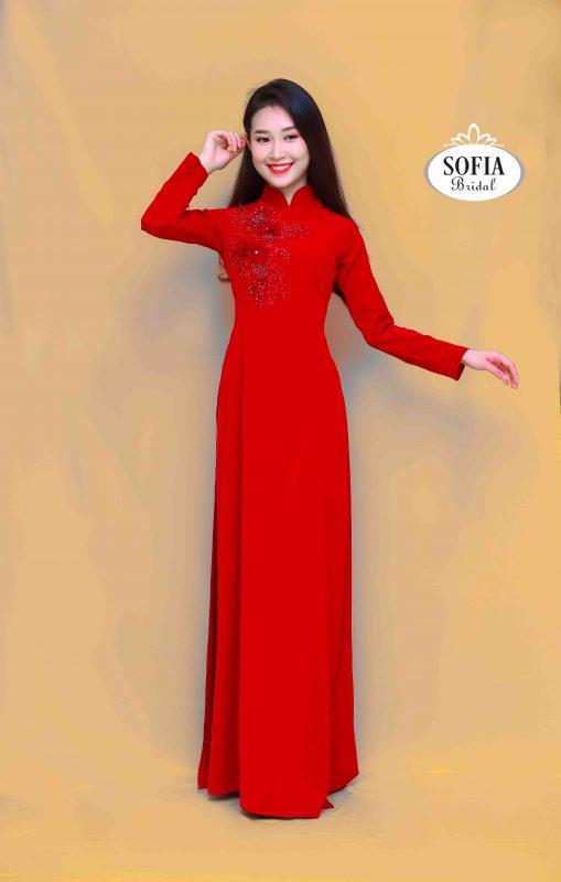 Áo dài quý cô - Phong Cách hiện đại ,Tinh Tế