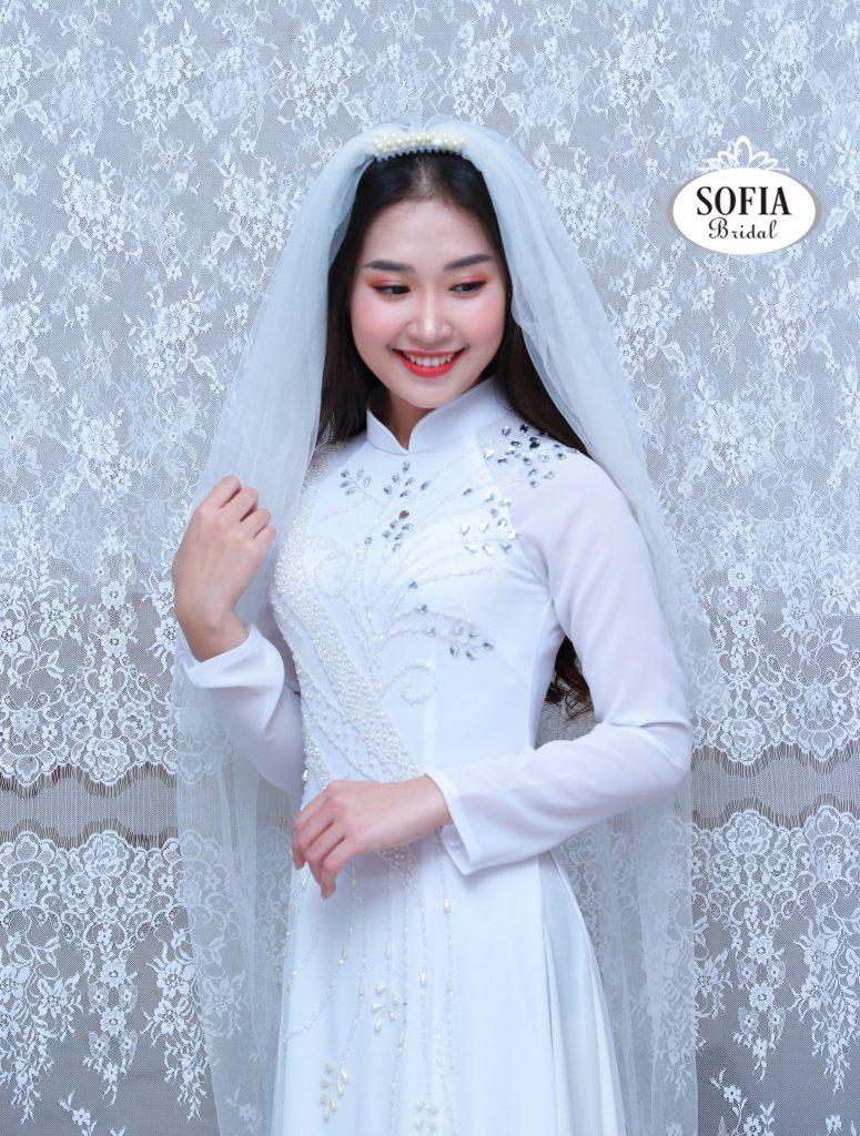 áo dài cưới đẹp nhất cho cô dâu