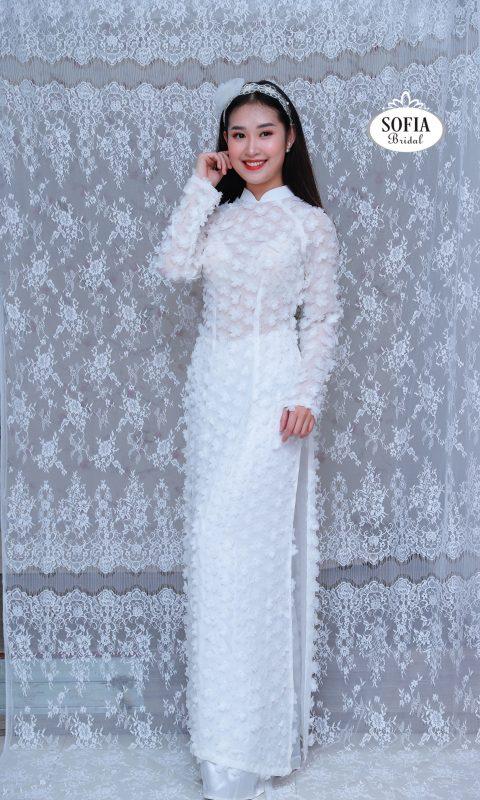 Vải áo dài - SOFIA BRIDAL là thương hiệu chuyên về áo dài cung cấp vải thời trang áo dài là mang đậm bản sắc và văn hoá Việt Nam hotline 0936343596.