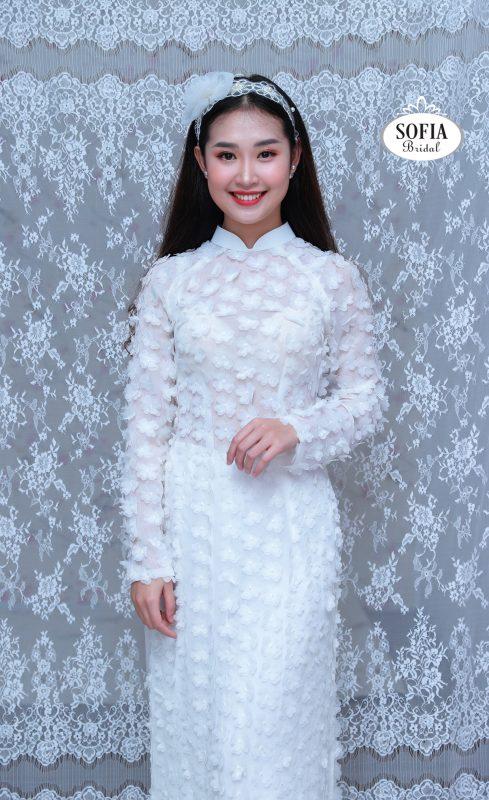áo dài cách tân đẹp trẻ trung Phong Cách Hiện Đại