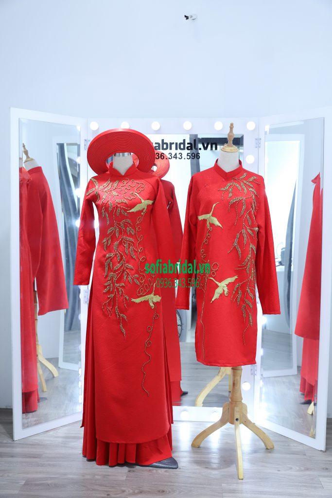 áo dài cưới dành cho tân lang