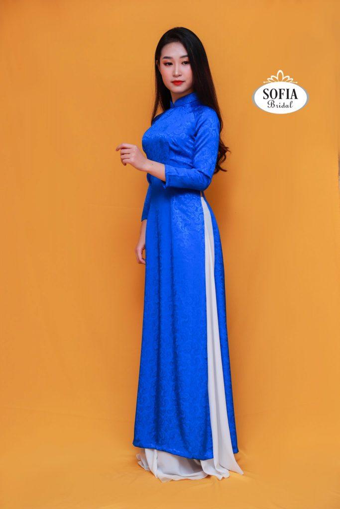 Sofia bridal địa chỉ bán áo dài đẹp ở Hà Nội Đa dạng về màu sắc, kiểu dáng nhưng lại có mức giá cả cực kì phải chăng và hợp lý hotline 0936343596