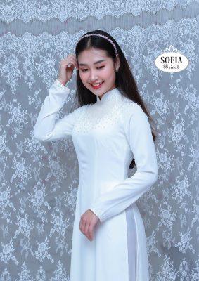 SOFIA BRIDAL là thương hiệu chuyên về áo dài cung cấp vải thời trang áo dài là mang đậm bản sắc và văn hoá Việt Nam hotline 0936343596.