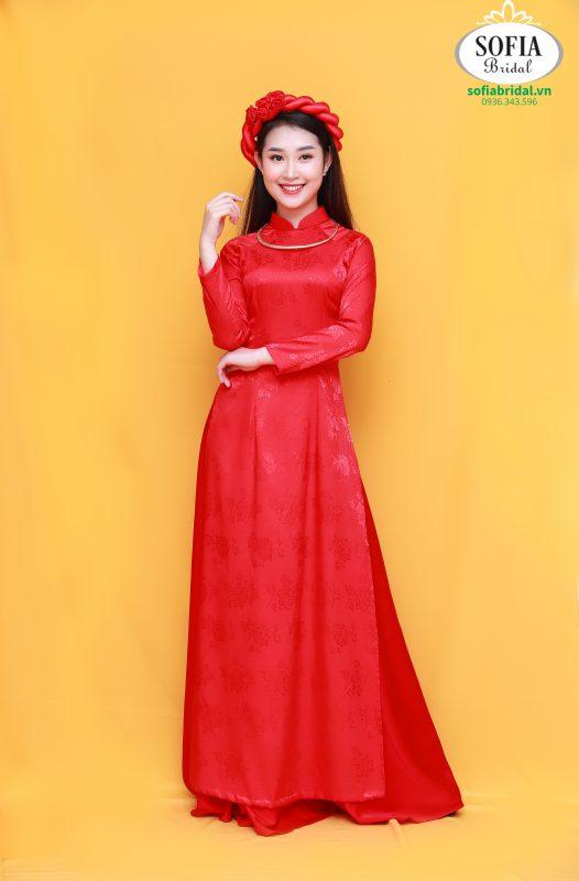 SOFIA BRIDAL Địa chỉ bán vải áo dài đẹp nhất