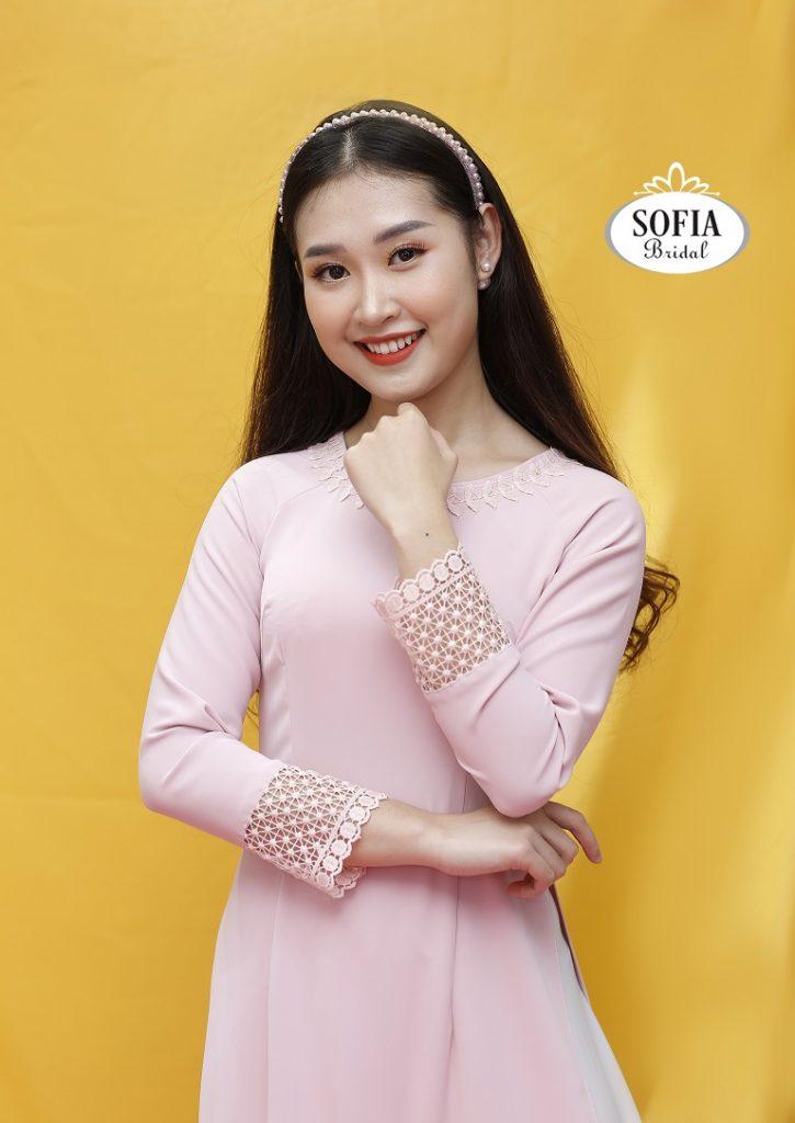 áo dài cách tân Sofia - Thiết kế độc đáo - Phong cách hiện đại - Cập nhật xu hướng mới - SOFIA BRIDAL Thương hiệu áo dài đẹp nhất Hà Nội - 0936343596.