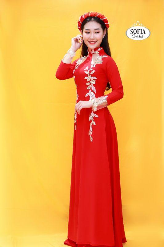 Áo dài cưới đẹp- Thiết kế lạ mắt - Phong Cách Hiện Đại