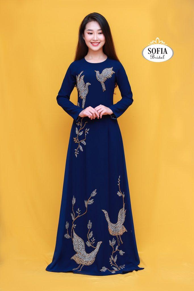Áo dài quý bà sang trọng đẳng cấp Xu hướng mới - Top 5 thương hiệu áo dài đẹp nhất tại Hà Nội – Hotline 0936343596