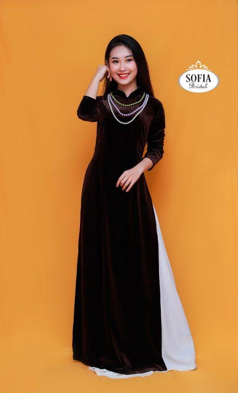 Áo dài quý bà  - Thiết kế độc đáo - Phong Cách Hiện Đại, Tinh tế
