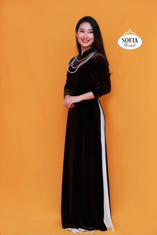 Thuê áo dài SOFIA BRIDAL Đa dạng về màu sắc, kiểu dáng
