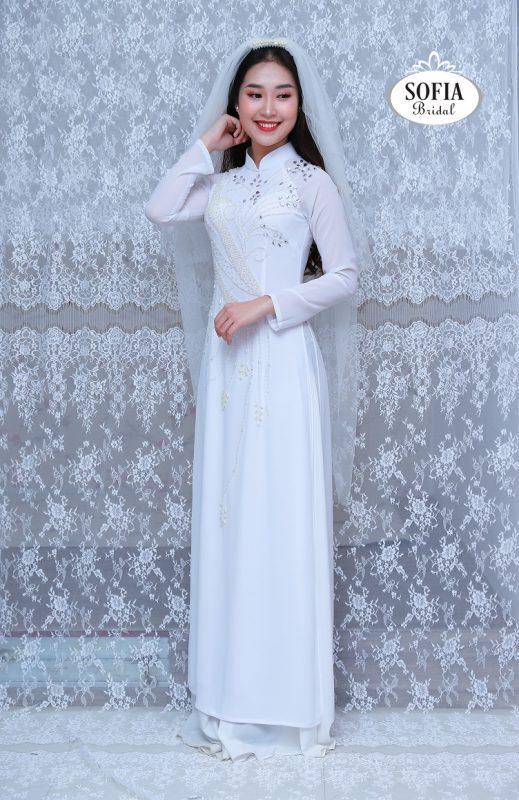 Áo dài cô dâu - Phong Cách Hiện Đại, Tinh Tế