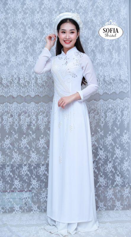 áo dài quý cô sang trọng - Phong Cách Hiện Đại, Tinh Tế.