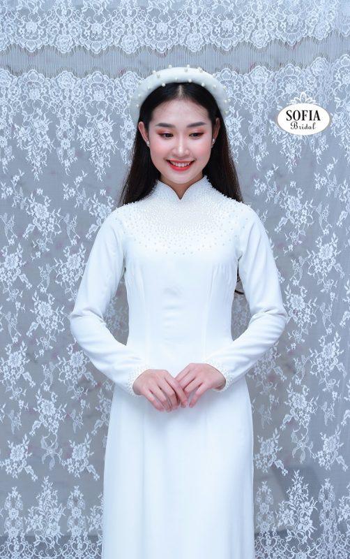 mẫu áo dài ấn tượng nhất - Phong Cách Hiện Đại, Tinh Tế
