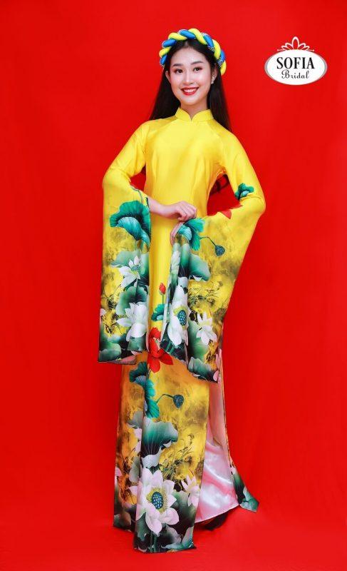 Dịch vụ cho thuê áo dài Sofia Bridal đa dạng về kiểu dáng