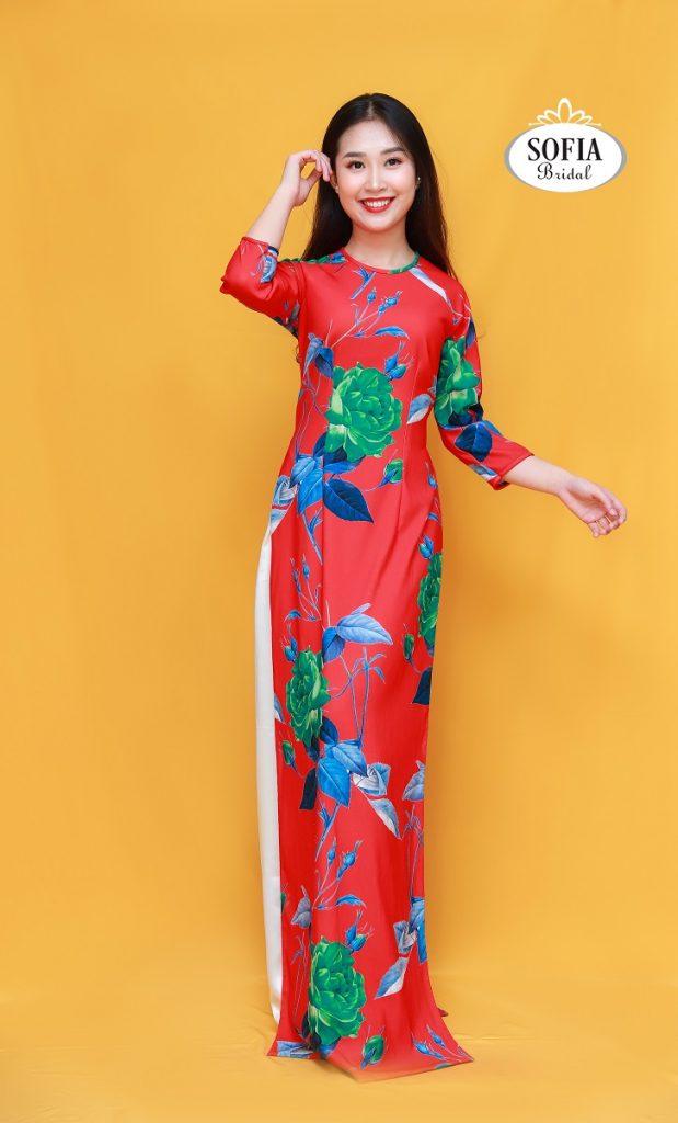 Top 10 Mẫu áo dài đẹp , trẻ trung Phù hợp với hầu hết các bối cảnh như sự kiện, sân khấu, tiệc, đám cưới.