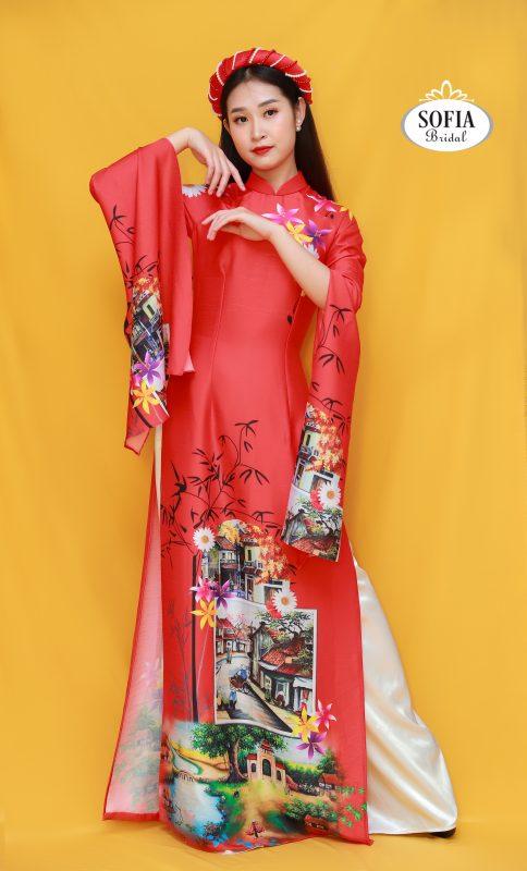 áo dài dự tiệc ấn tượng nhất - Phong Cách Hiện Đại, Tinh Tế