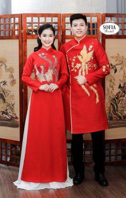Áo cưới nam nữ