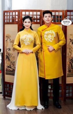 Sofia Bridal Địa chỉ bán áo dài đẹp Phong cách hiện đại sang trọng