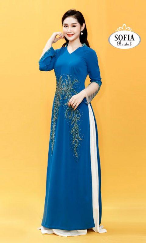 Áo dài quý bà  – Áo dài tuổi trung niên - Thiết kế độc đáo - Phong Cách Hiện Đại, Dịch vụ chuyên nghiệp,  Xu hướng mớí.