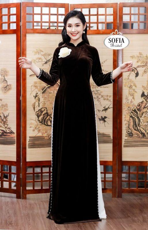 Áo dài quý bà sang trọng – áo dài tuổi trung niên