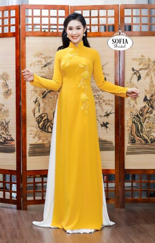 Sofia Bridal Địa chỉ May áo dài fom đẹp, chuẩn dáng lấy nhanh