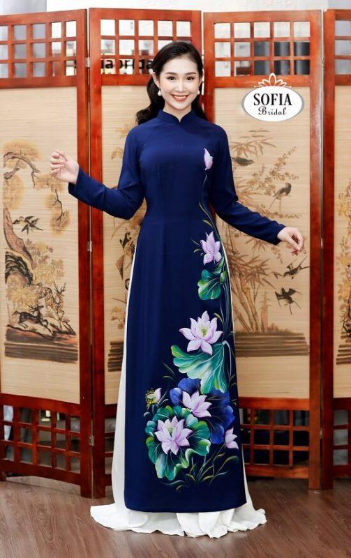 Mẫu áo dài đẹp nhất Hà Đông