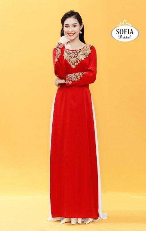 áo dài mẹ cô dâu chú rể