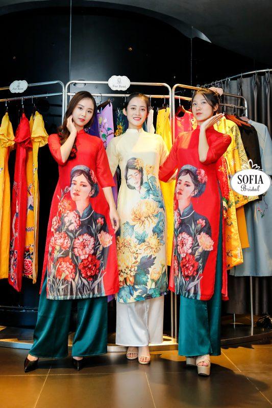 Xu hướng áo dài cách tân nữ 2021