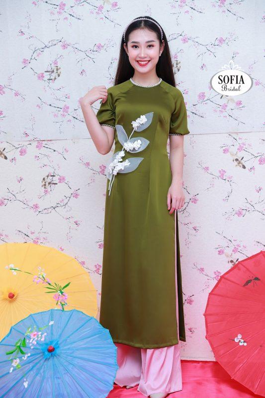 áo dài cách tân nữ Sofia