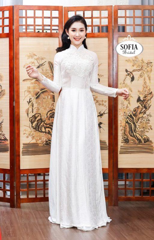 áo dài cưới nữ