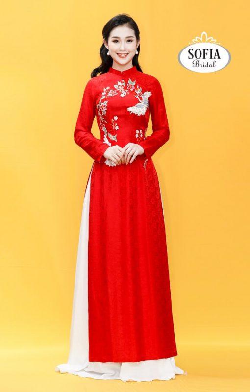 áo dài lụa Hà Đông
