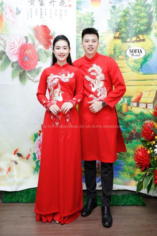 áo dài cưới tại Thanh Trì