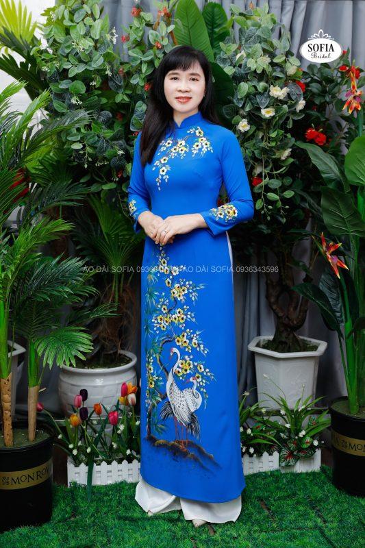áo dài quý bà tại Nam Từ Liêm