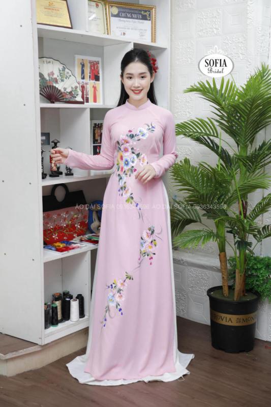 áo dài đính hôn tại Sóc Sơn
