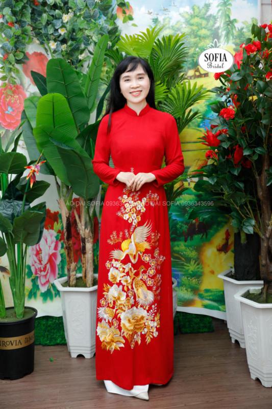 áo dài ăn hỏi đẹp tại Phú Xuyên